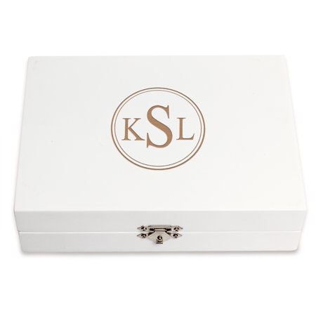 Personalized Wooden Jewelry Box ()