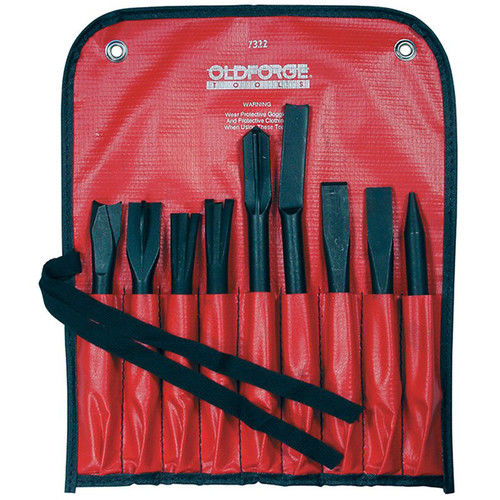Mayhew 37322 9-Piece Pneumatic Tool Set