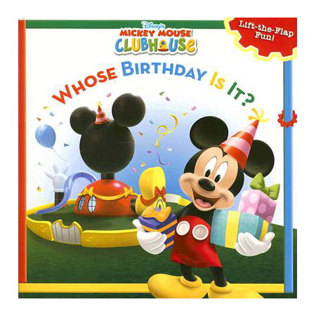 Mickey Mouse Clubhouse Whose Birthday Is It?](Mickey Mouse Halloween Book)