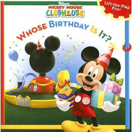 Mickey Mouse Clubhouse Shirt - Mickey Mouse Clubhouse Whose Birthday Is It?