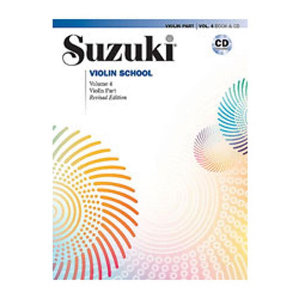 Alfred Suzuki Violin School Violin Part & CD, Volume 4 by Alfred