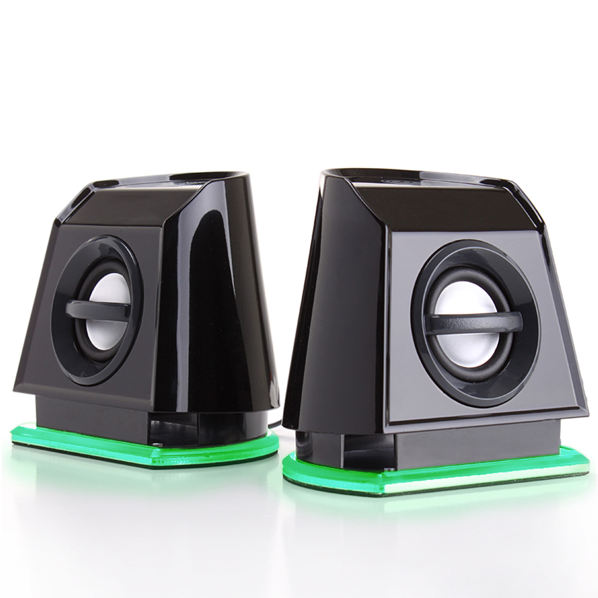 GOgroove BassPULSE 2MX Computer Speaker System with Universal USB Power and Glowing LED Base for Laptops and... by Gogroove