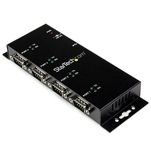 Startech ICUSB2324I 4 Port USB to DB9 RS232 Serial Adapter Hub USB 2.0