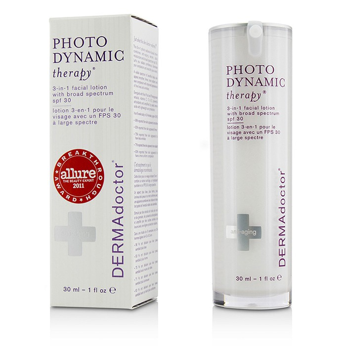 DERMAdoctor - Photodynamic Therapy 3-In-1 Facial Lotion S...