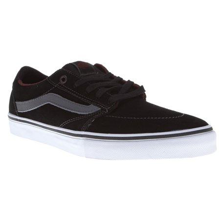 Vans Mens Lindero Otw Skateboard Shoes Black/ Charcoal/ Mahogany