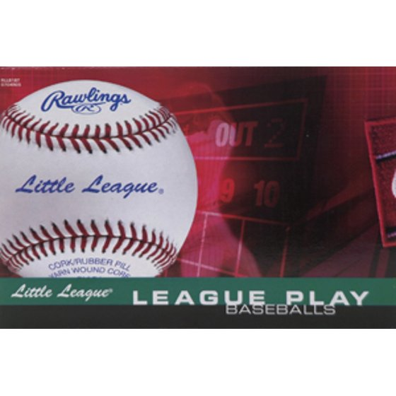 Rawlings RLLB1 Official Little League Competition Grade Baseballs