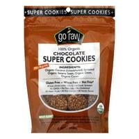 Go Raw Chocolate Organic Super Cookies, 3 Oz (Pack of 12)
