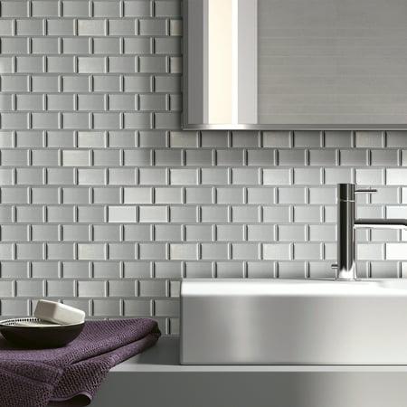Art3d Peel and Stick Kitchen Backsplash Wall Panels, 12in x ...