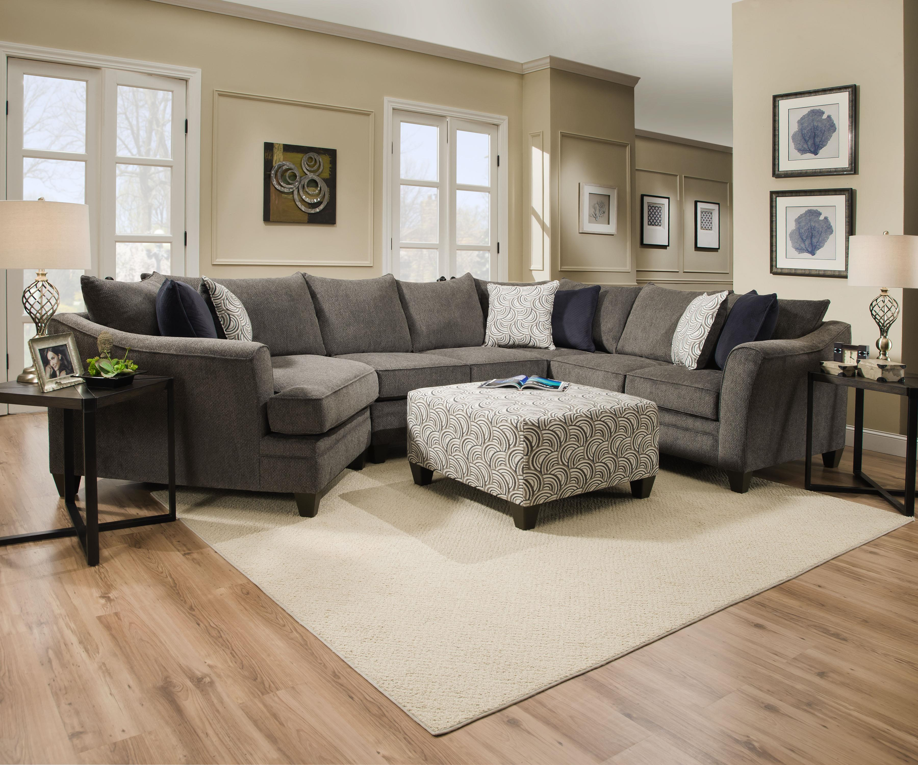 Simmons Upholstery Albany Sectional