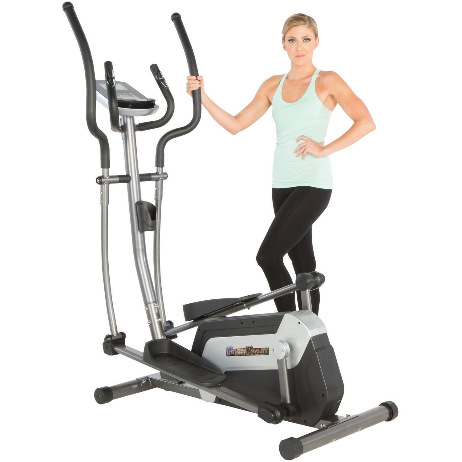 FITNESS REALITY E5500XL Magnetic Elliptical Trainer with Target Workout Computer Programs by Paradigm Health & Wellness