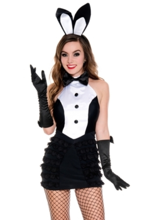 Music Legs 70621 Mrs Tux Bunny Costume