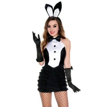 Mrs. Tux Bunny Costume Music Legs 70621 Black/White - Bunny Tuxedo
