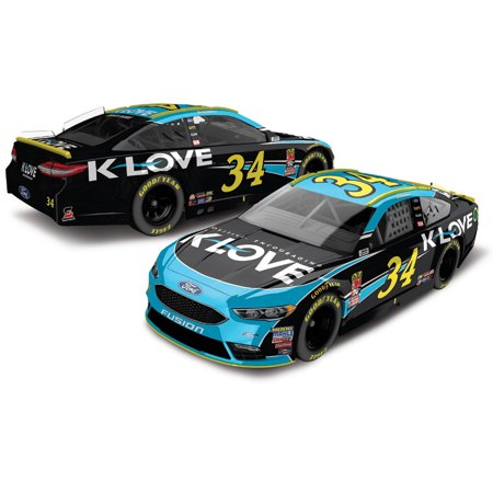 Michael McDowell Action Racing 2018 #34 K-Love 1:64 Regular Paint Die-Cast Ford Fusion - No Size - Michael Waltrip Racing Driver