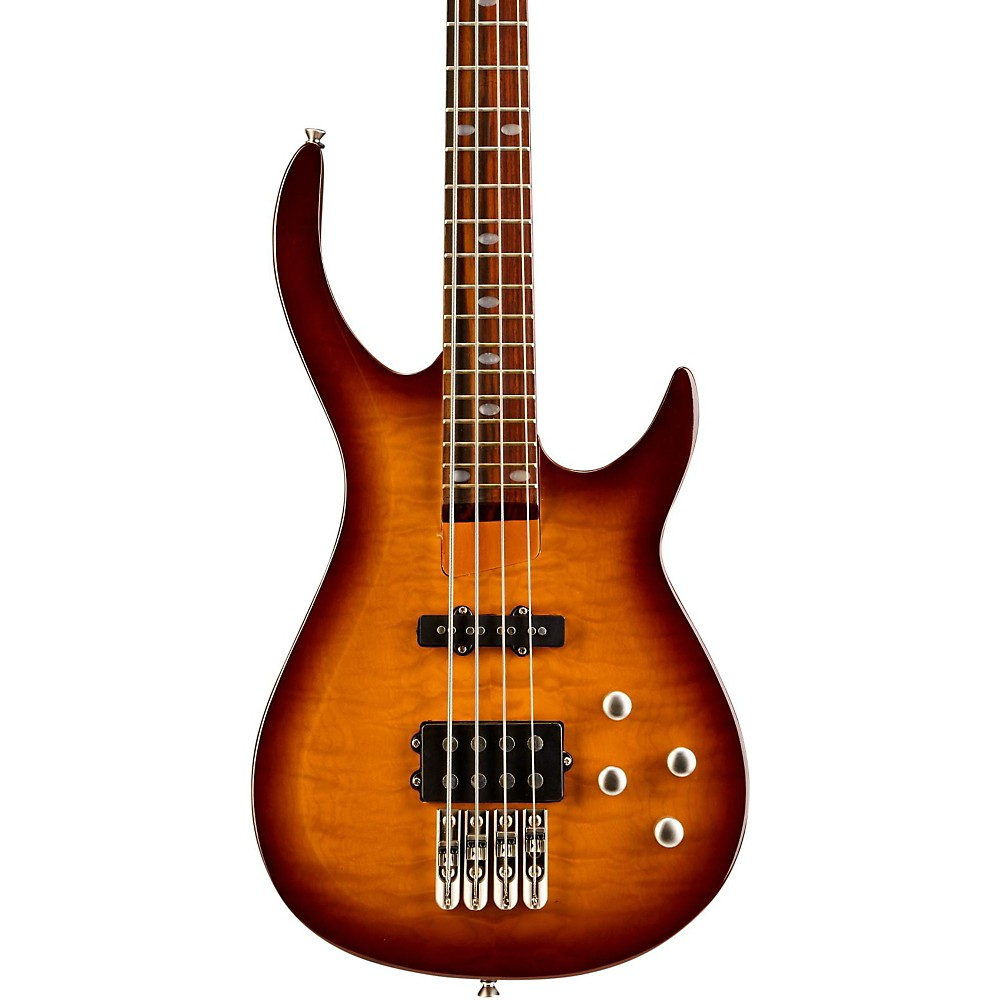Rogue LX400 Series III Pro Electric Bass Guitar Sunset Burst by Rogue