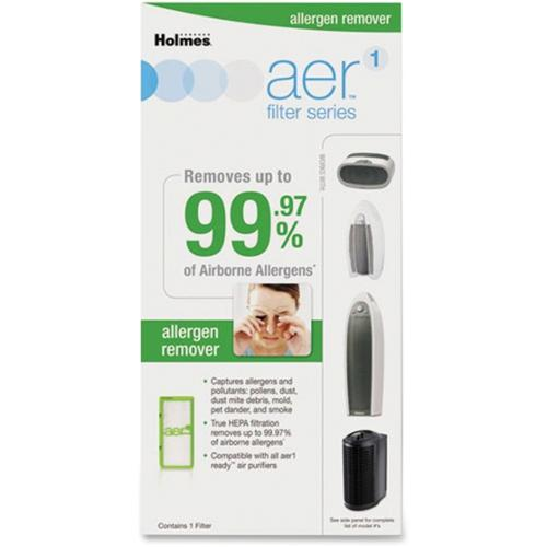 Holmes aer1 Allergen Remover Replacement Filter - HEPA - For Air Purifier - Remove Dust, Remove Pollen, Remove Pet Dande