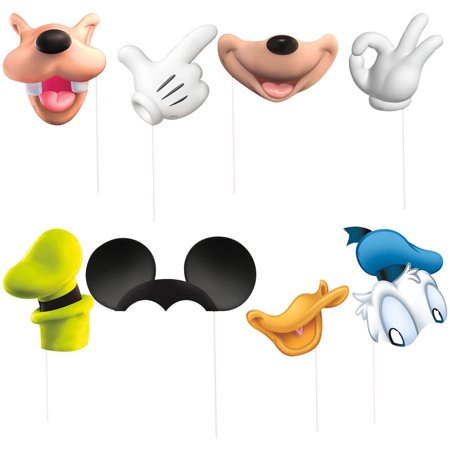 Japanese Photo Booth (Mickey Mouse Birthday Photo Booth Props,)