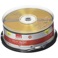Maxell Music 32x 80 minute / 700MB CD-R Media for Audio - 30 Pack Spindle (625335)