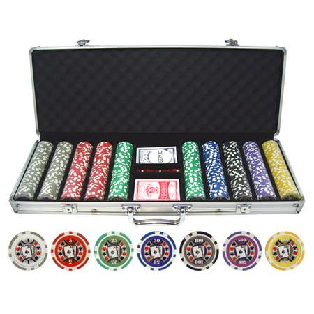 500pc Big Slick 11.5g Poker Chip Set