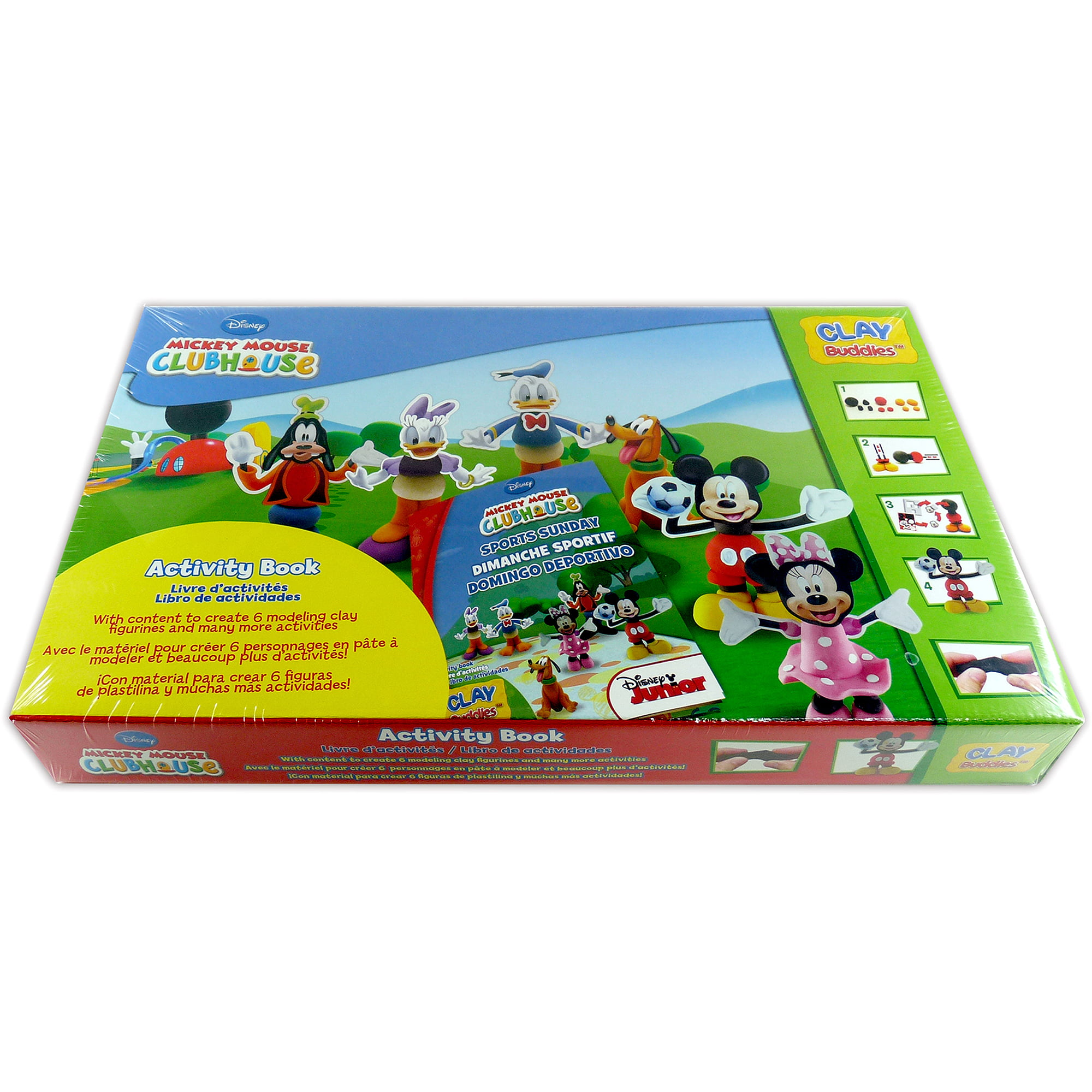 Mickey Mouse Clubhouse Clay Bud s Super Pack Walmart
