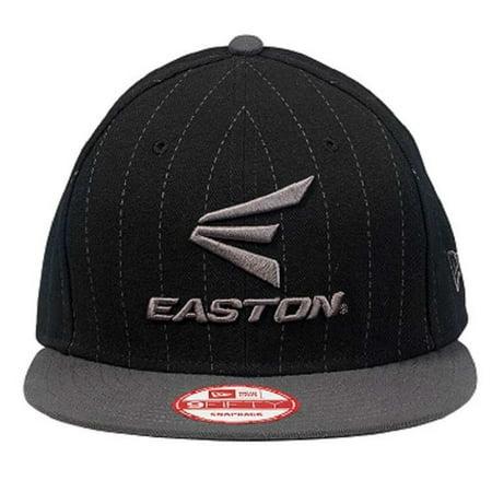 Easton Men's Gameday Hat M10 Pinstripe 9Fifty Flat Bill Cap, A167904 (Easton Cap)