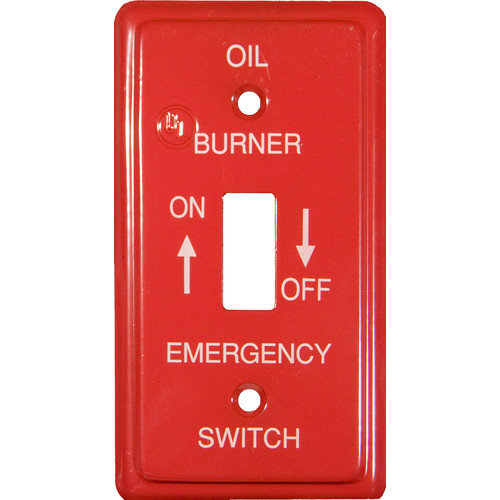 Emergency Metal Switch Plates Utility Gas