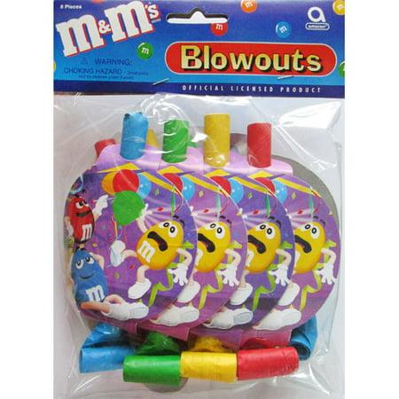 M&M's Blowouts / Favors (8ct) (Individual Color M&ms)