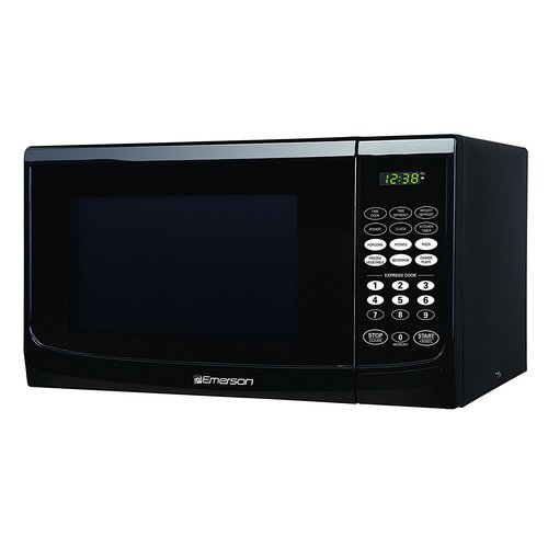 Emerson 0.9 CU. FT. 900 Watt, Touch Control, Black Microwave Oven, MW9255B by Emerson Radio Corp.