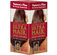 Ultra Hair Time Release Nature's Plus 60 Sustained Release Tablet