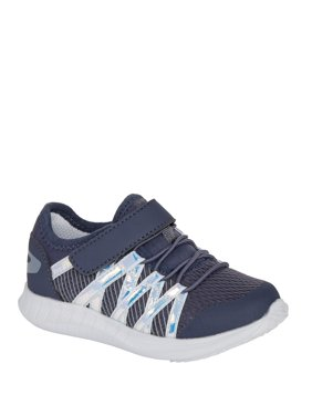 Athletic Works Zig Zag Running Sneaker (Toddler Girls)