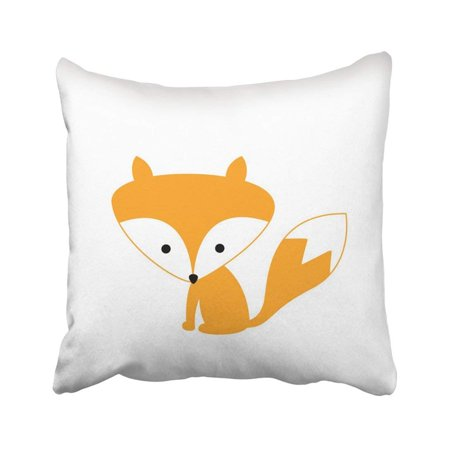 BPBOP Animal Little Sweet Fox Forest Baby Cute Retro Adorable Cartoon Character Pillowcase 16x16 inch](Baby Anime Characters)