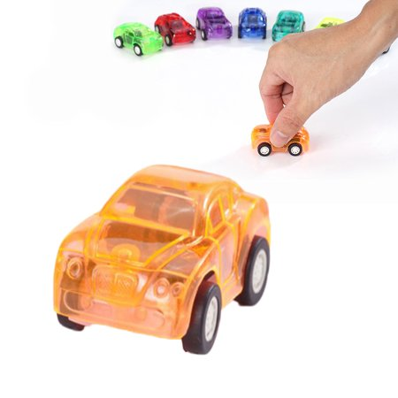 JOYFEEL Clearance 2019 Kids Transparent Mini Pull Back Car Clockwork Toy Best Toy Gifts for Children