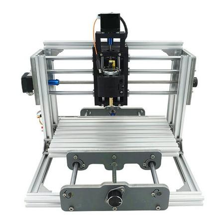 Mini DIY CNC 2417 Mill Router Kit USB Desktop Metal Engraver PCB Milling (Best Small Cnc Milling Machine)
