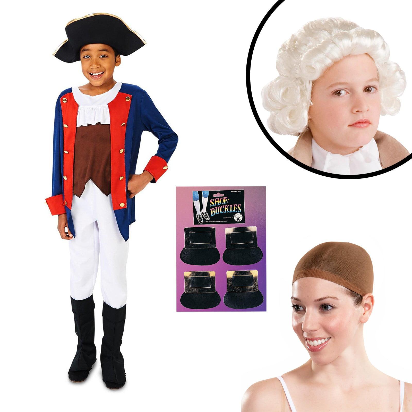 Patriot Soldier Revolutionary War Boys Child Halloween Costume