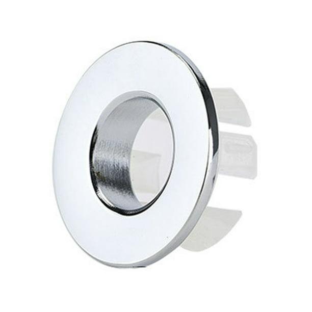 Details about  /Sink Overflow Ring Kitchen Bathroom Sink Hole Round Overflow Cover Basin Trim