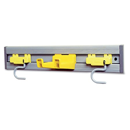 Rubbermaid Commercial, Rcp199200Gy, Closet Organizer/tool Holder Kit, 1 Each, Gray ()