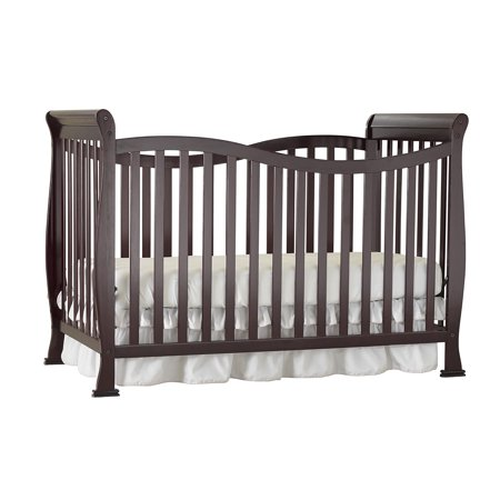 Girls Express (Big Oshi Jessica 7-in-1 Convertible Crib Frame - Modern, Unisex Wood Design for Boys or Girls - Adjustable Height, Low or High - Convertible to Crib, and Day, Toddler, Twin,)