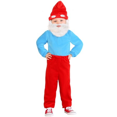 The Smurfs Toddler Papa Smurf Costume - image 2 of 4