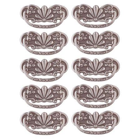 10 Cabinet Pull Pewter Solid Brass Scalloped Bail | Renovator's Supply Solid Pewter Pull
