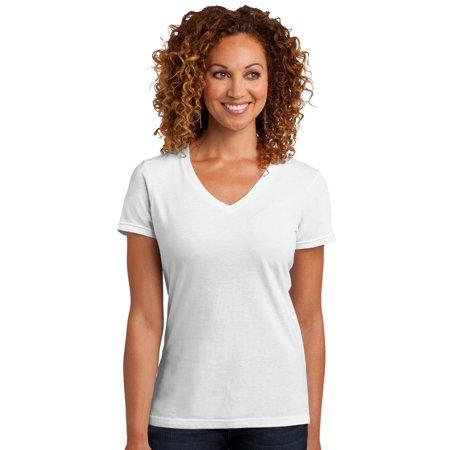 District Made Women's Perfect Blend V-Neck T-Shirt](District 12 Training Shirt)