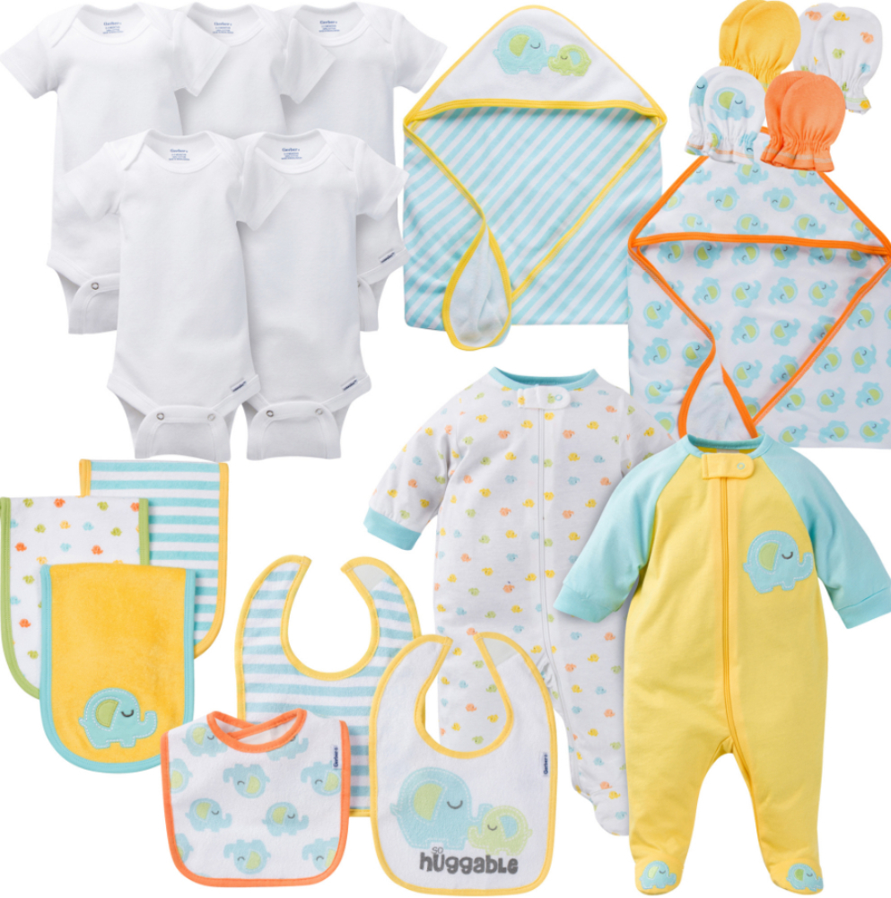 Gerber Neutral Layette Set - 6 Pieces