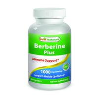 Best Naturals Berberine Plus 1000 mg per serving 60 Capsules
