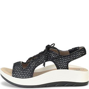 30195473db96 Bionica - Bionica Cosmic Sandals - Black - Walmart.com