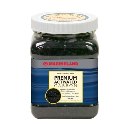 Marineland Black Diamond Premium Activated Carbon Aquarium Water Filter Media, 40
