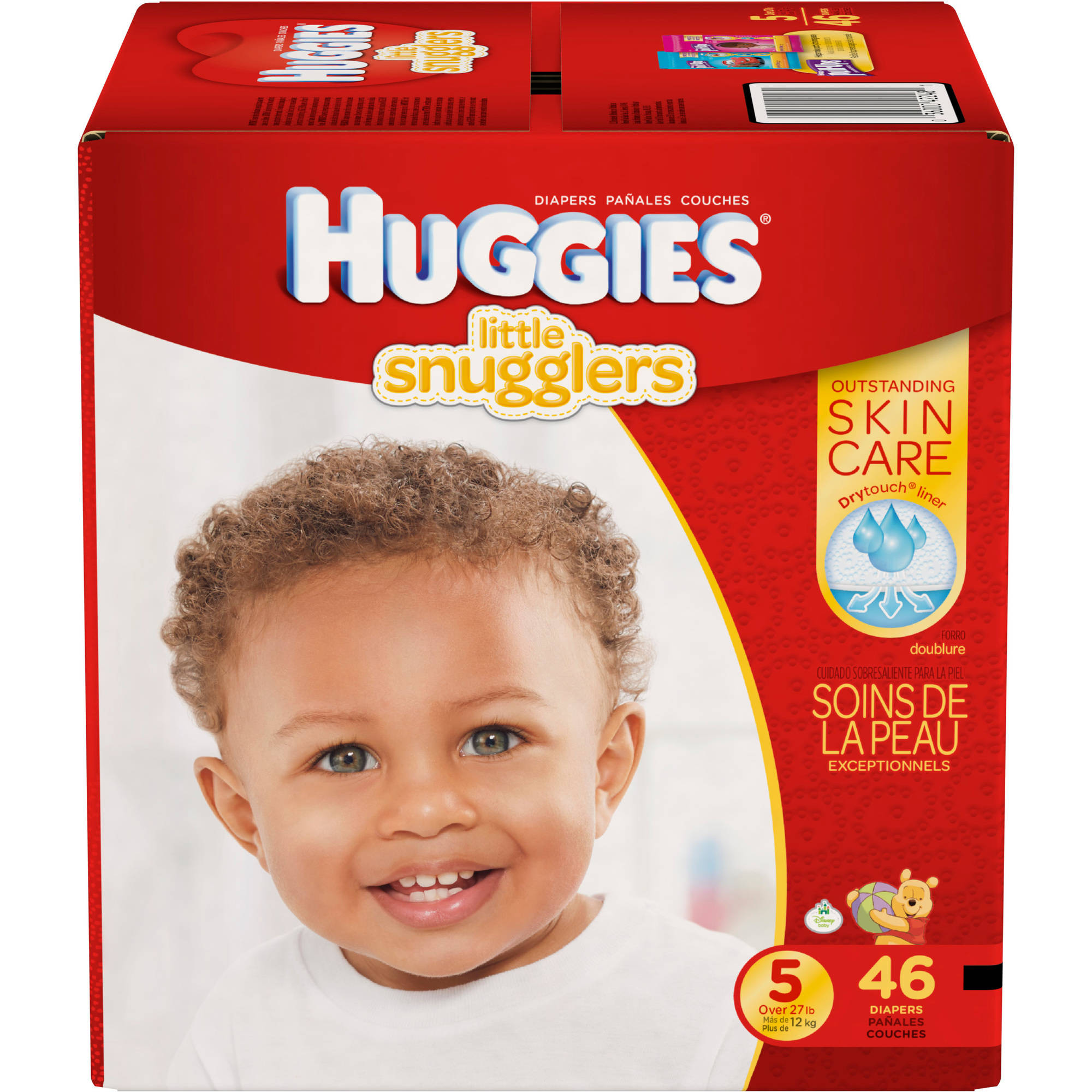 HUGGIES Little Snugglers Diapers, (Choose Your Size)