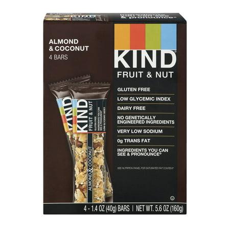KIND Fruit & Nut Almond & Coconut - 4 CT