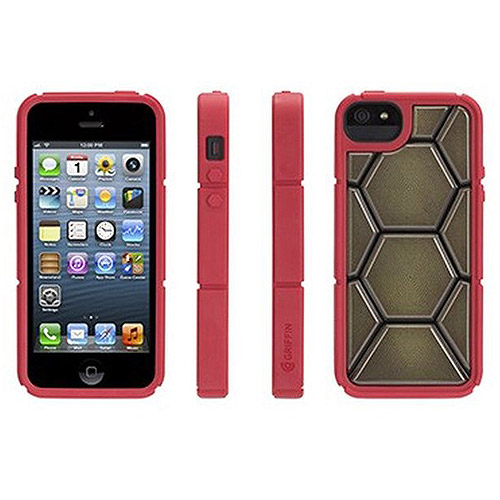 Griffin iPhone 5/5S/SE Case Teenage Mutant Ninja Turtles Red