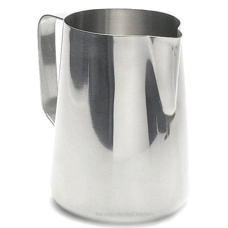 New Large 50 oz. (Ounce) Espresso Coffee Milk Frothing Pitcher, Steaming Frot