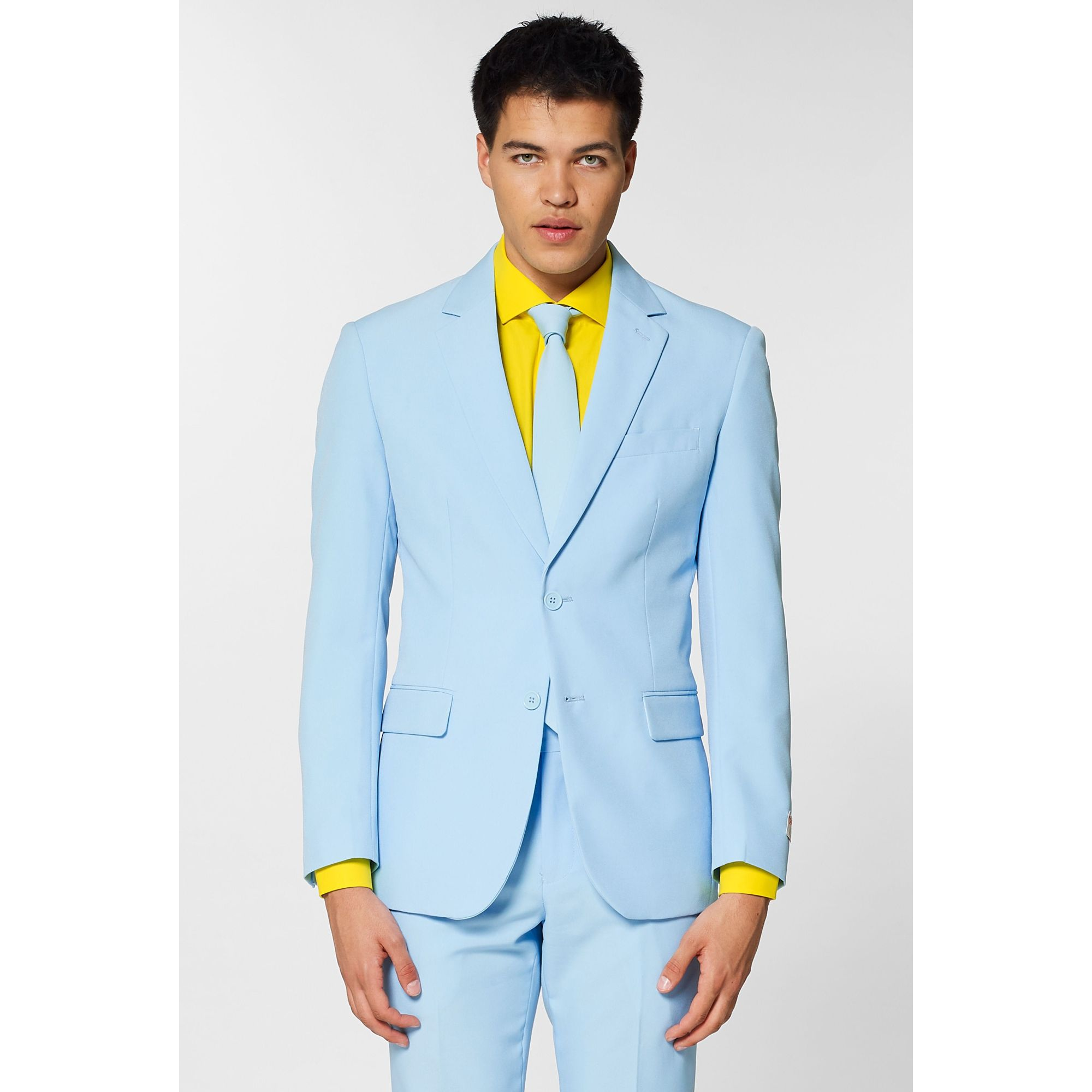 MENS ADULT SUMMER SHORTS JACKET BLUE OPPOSUITS SUIT PARTY PROM NOVELTY OUTFIT