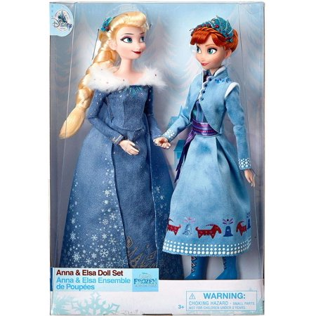 Disney Frozen Anna & Elsa Doll 2-Pack [Olaf's Frozen (Disney Frozen Anna And Elsa Dress Up)