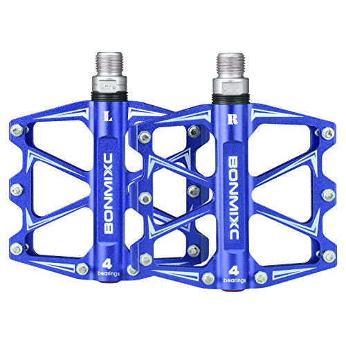 BONMIXC Bicycle Pedals 9//16 Cycling Sealed Bearing Bike Pedals
